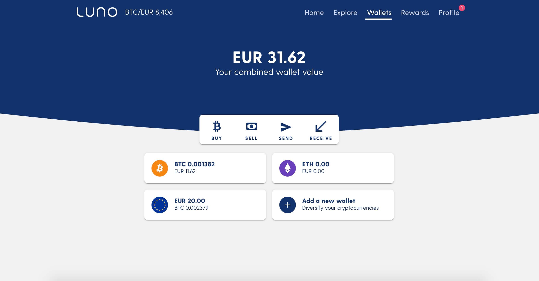 luno bitcoin trading