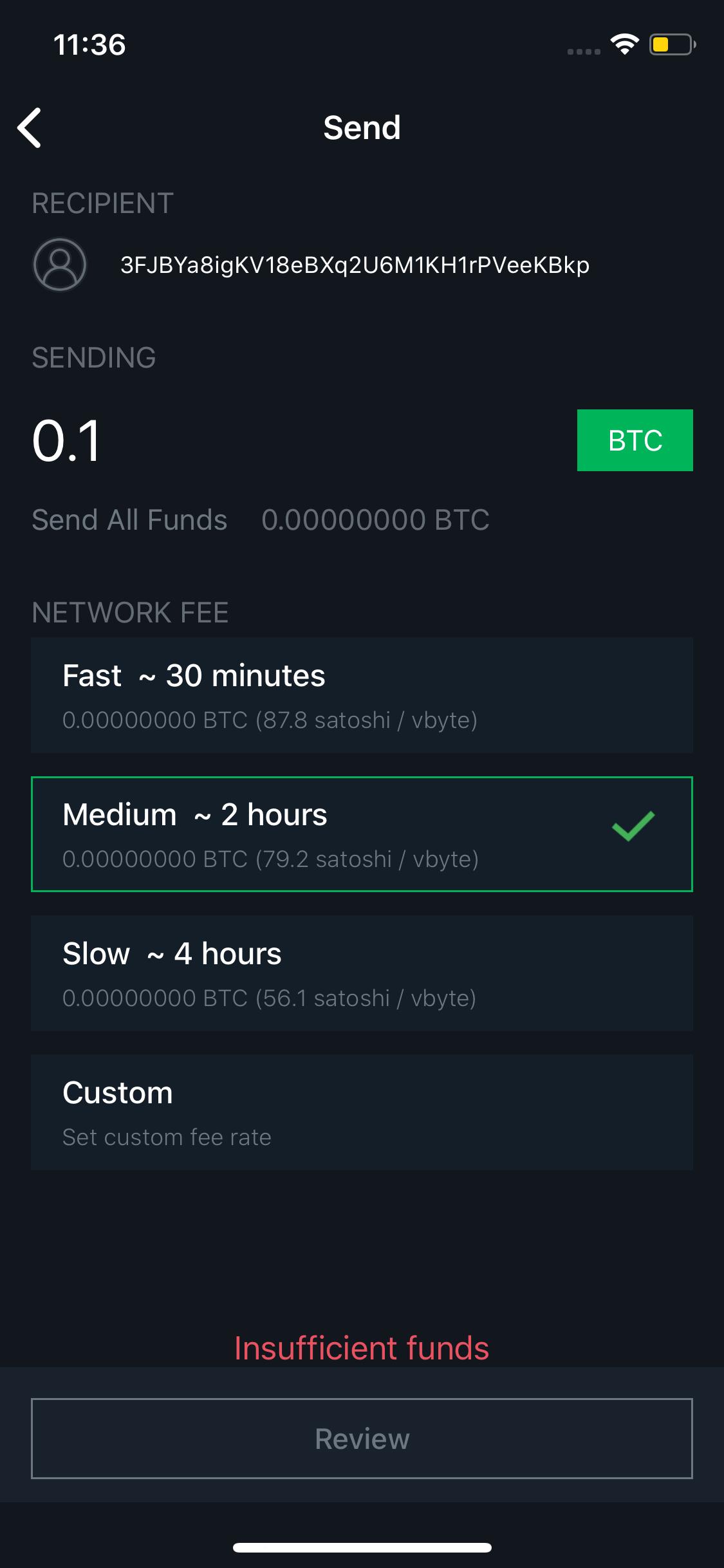 Blockstream Green screen 1